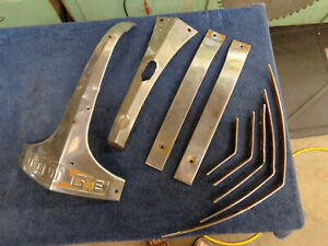 1940 Dodge Truck Stainless Nose Trim Price Reduced
