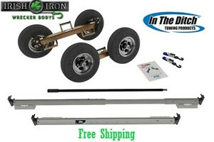 Tow Dolly Itd2878 p Greasable Hub Tow Truck Wrecker Rollback