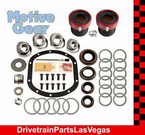 1997 2006 Jeep Tj Dana 30 Front Master Bearing Rebuild Kit Hd Outer Axle Seals