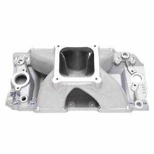 Edelbrock 28972 Super Victor Ii Intake Manifold For Bbc 10 2 Tall Deck Cnc Port
