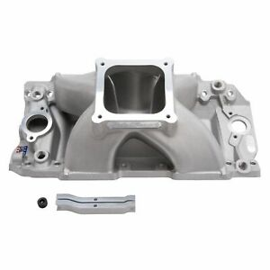 Edelbrock 28978 Super Victor Ii Intake Manifold For Bbc 10 2 Tall Deck With Sr2