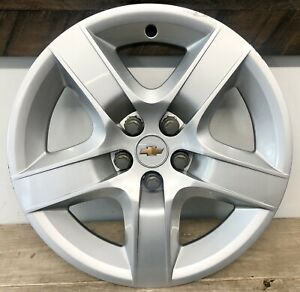 1 2008 2009 2010 2011 2012 Chevy Malibu 17 Wheel Hub Cap Cover 9596922 Oem
