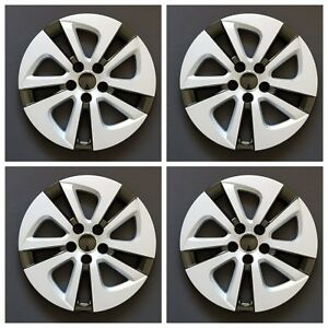 New Wheel Covers Hubcaps Fits 2016 2017 Toyota Prius 15 Silver Set Of Four