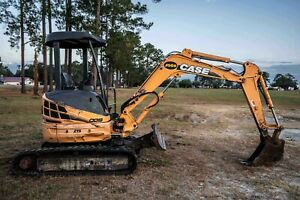 2012 Case Cx31b Zts Mini Excavator W Trenching Bucket Blade 2530 Hrs