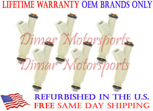 Fits 2000 Ford Ranger 4 0l V6 Oem Bosch Fuel Injector Set Of 6