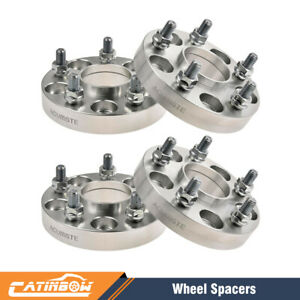 4pcs 25mm 1 Inch Hubcentric Wheel Spacers 5x114 3 64 1mm For Honda Civic Acura
