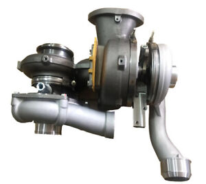 New Hp Upgraded Billet Turbos For 08 10 Ford 6 4 Powerstroke Diesel Twin Turbo
