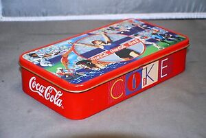 Coca-Cola Olympics Tin box
