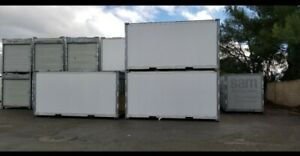 Pre owned 16 Ft Portable Storage Container On Wheels For Sale