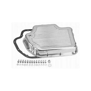 Rpc Transmission Oil Pan R8492 Finned Polished Aluminum For Chevy Th 400