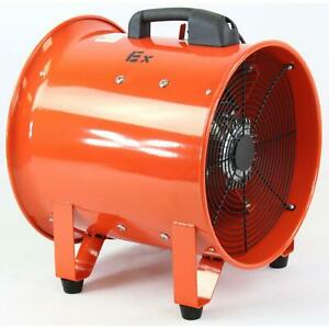 Bvv 16 Ignition Resistant Axial Fan W Ducting