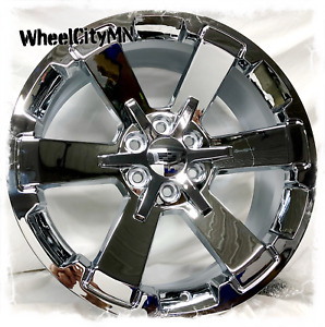 24 Inch Chrome 2018 Chevy Rally 5662 Oe Replica Wheels Cadillac Escalade 6x5 5