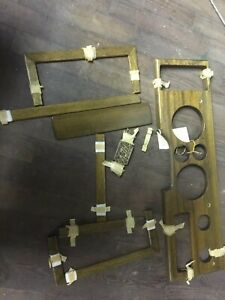 1970 S Chevy Van Wood Dash Trim Kit Castlewood Designs No Chevy Symbl