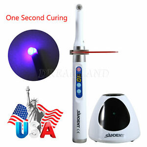 Woodpecker Dte Style Iled Dental Wireless Led Curing Light Lamp 1 Sec Curing Usa