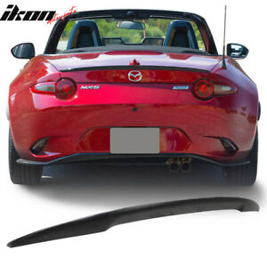 Fits 16 20 Mazda Miata Mx5 4th Nd Convertible Performance Abs Trunk Spoiler