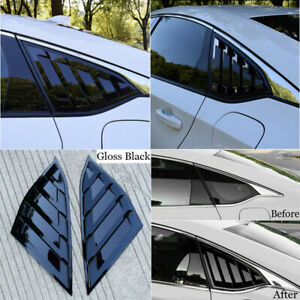 Car Window Side Louvers For Honda Accord 2018 Rear Decor Accessories Parts