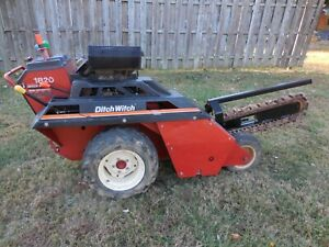 Ditch Witch 1820 Trencher Only 242 Hours With Honda 18hp Engine 48 In X 6 Teeth