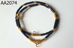 4 Amulets Coconut Shell Gala Prayer Beads Buddhist Thai Amulet Necklace Aa2074a