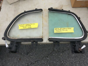 1933 35 Buick Chevrolet Oldsmobile Pontiac Coupe Vent Windows Original