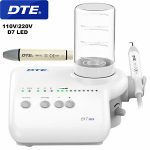 Woodpecker Dte Dental Ultrasonic Scaler Automatic Water Acteon D7 Led Handpiece