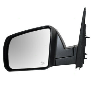 Fits 14 19 Toyota Tundra Truck Drivers Side View Power Mirror Heated Textured