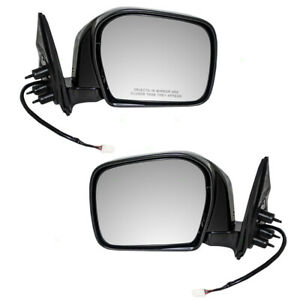 Fits Toyota Tacoma Truck 00 04 Set Of Side View Power Mirrors Glass W Housing