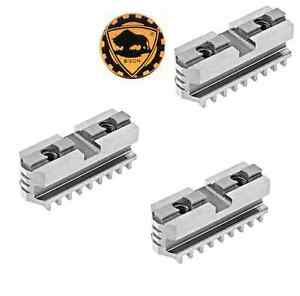 Bison Hard Master Jaws For Scroll Chuck 10 3 jaw 3 Piece Set 7 885 310