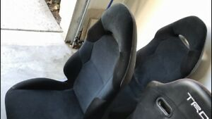 2000 Toyota Celica Gt Gts Front Driver Passenger Oem Seats W Railings