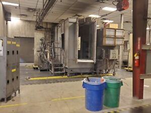 Itw Gema Reclaim Powder Booth 3x7 Part Opening Booth Mover System