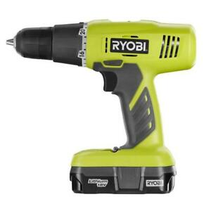 18 volt One Lithium ion Cordless 3 8 In Drill driver Kit With 1 3 Ah Battery