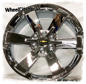 22 X9 Chrome 2017 Chevy Silverado Rally 5662 Oe Replica Wheels Tahoe Ltz 6x5 5