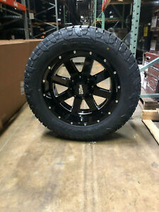 20x10 Mo962 Moto Metal Wheels Rims 35 Fuel At Tires 6x135 Ford F150 Expedition