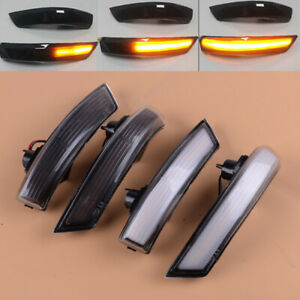 Fit For Ford Focus Mk3 2011 2018 Side Wing Mirror Led Dynamic Turn Signal Light