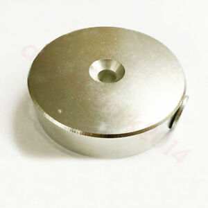 Large Dia 80mm X 20mm Disc Strong Rare Earth Magnets Neodymium N50
