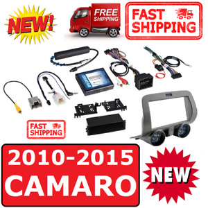 2010 15 Chevy Camaro Double Din 2din Car Stereo Radio Installation Dash Kit
