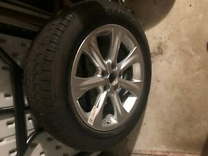 235x55x18 7 spoke Newer Used Tire Was Spare Tire 18x7j35 Michelin Energy Mxv4 S8