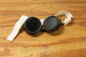 Vintage Set Of Welding Goggles Motorcycle Goggles Glasses