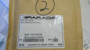 Faraday Cat No 8727w Led Annunciation Wall 500 033310fa