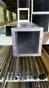 2 1 2 Aluminum Square Tube 250 Wall X 60