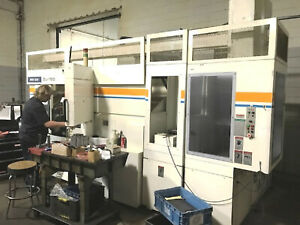 Mori Seiki Dl150y 6 axis Opposed Spindle Cnc Lathe Live Milling Y Axis
