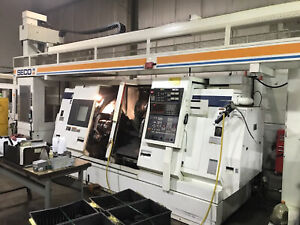 Mori Seiki Dl 25mc Dual Spindle Dual Turret Cnc Turning Center W Live Milling