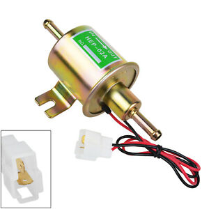 12v Gas Diesel Inline Low Pressure Electric Fuel Pump Fit For Toyota
