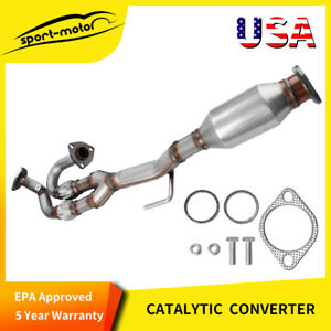 For 04 06 Nissan Quest Maxima 3 5l Catalytic Converter Flex Exhaust Y Pipe