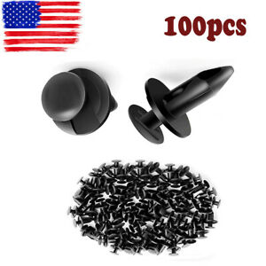 100pcs Retainer Clips Screw For Saturn Ford Chrysler Dodge Jeep Plymouth Lincoln Fits 2004 Saturn Ion