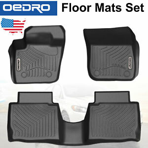 All Weather Guard Unique Tpe Floor Mats Liners Fit For 2013 2016 Ford Fusion