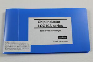 Murata Eklm15ub Chip Inductor Lqg10a Series 1005 0402 Multilayer Kit