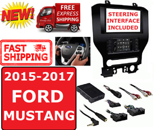 2015 17 Ford Mustang Double Din 2din Car Radio Stereo Installation Dash Kit