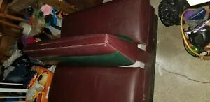 Double Sided Restaurant Booth Seat Great For Man Cave Or A Pontoon Boat Seat