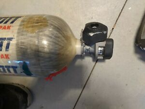 Scott 4 5 Scba 4500psi Carbon Fiber 60 Min Tank Cylinder 2002 Checked In 2012