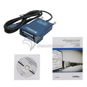 National Instruments Gpib usb hs Interface Adapter Ieee 488 With Chinese Chip Sr